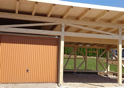 garage carport holz holz carport nach ma 223 projektfotos kunden