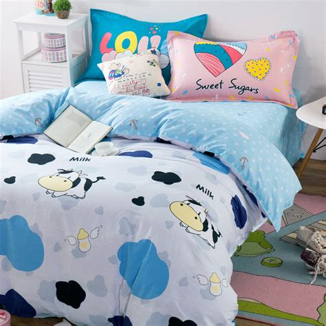 Cow Print Comforter Set by Get Cheap Cow Print Bedding Aliexpress