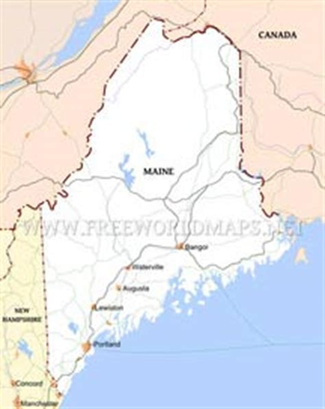 maine physical map physical map of maine