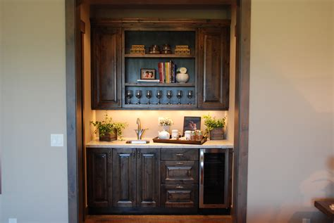 Kitchen Bar Cabinet Hutch Buffet Bar Pictures Steve S Cabinetry