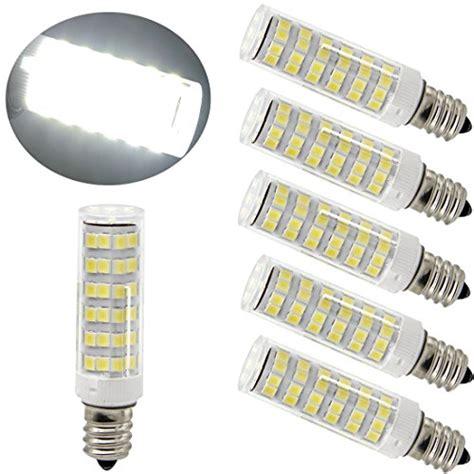 daylight bulbs for ceiling fans ulight 6w e11 led light 60w 120v 130v halogen bulbs