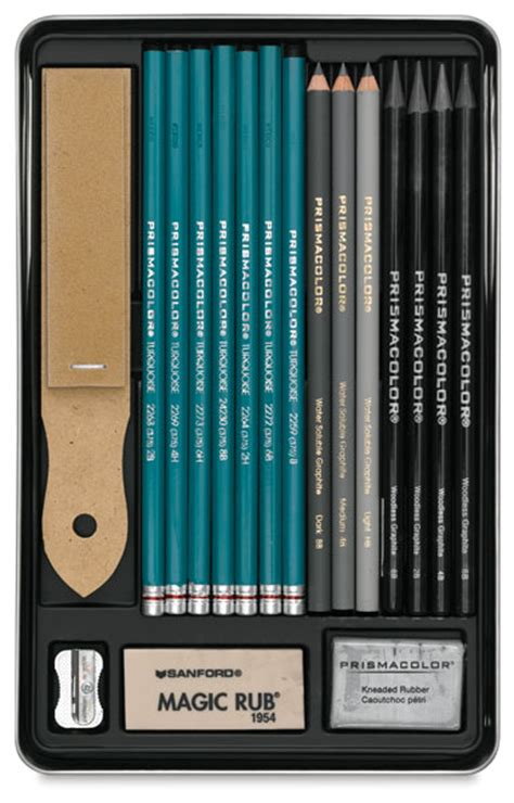 Drawing Set by Prismacolor Graphite Drawing Set Blick Materials