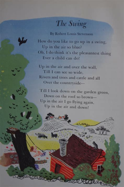 the swing poem by robert louis stevenson 1000 images about poetry on pinterest the swing robert