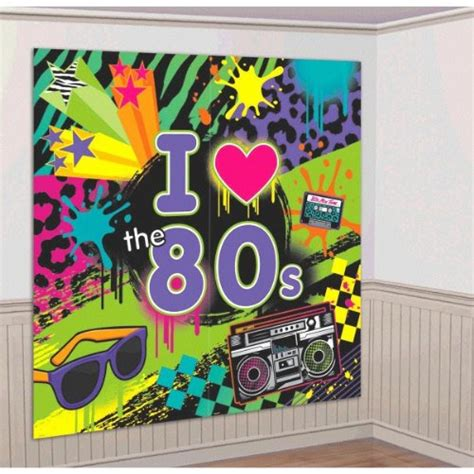 poster decoration ideas 80s decorations ideas simplyeighties