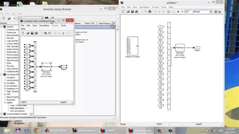 tutorial vector and scalar how to create a 4x4 matrix from scalar inputs in simulink