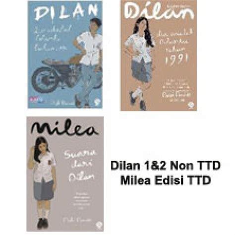 Buku Dilan bukukita paket buku dilan 1 2 3 toko buku