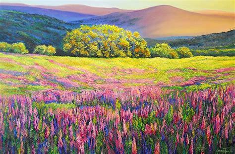 imagenes de paisajes florales im 225 genes arte pinturas paisajes naturales florales