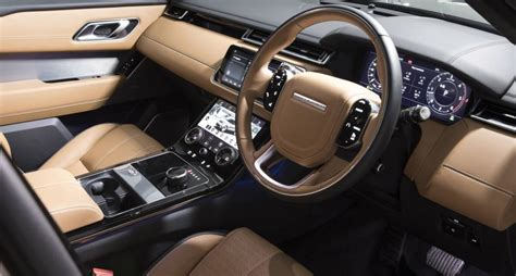 velar land rover interior range rover velar now on sale in australia from 70 662