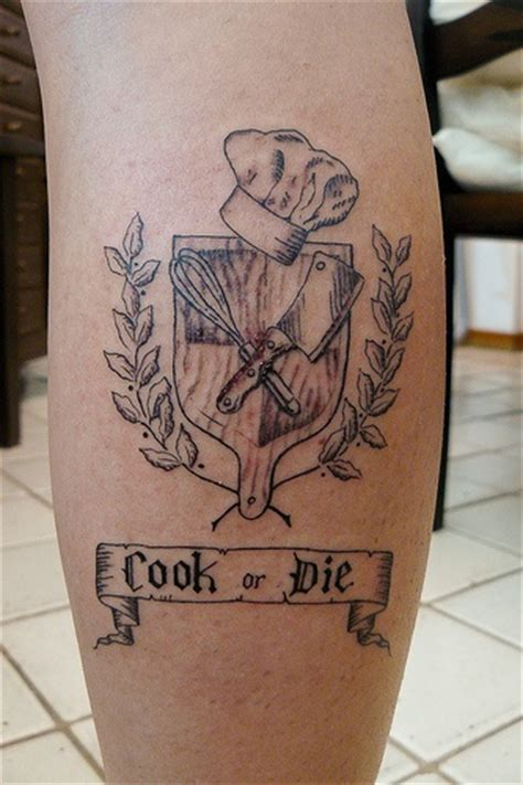 kitchen tattoo designs 25 best ideas about culinary tattoos on chef