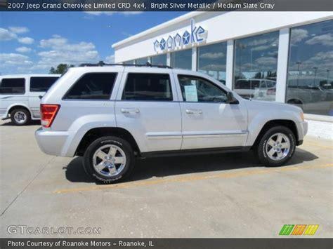 silver jeep grand 2007 bright silver metallic 2007 jeep grand limited