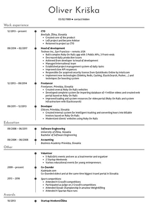 the best resume templates what is template format cv free top all