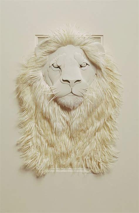 Make Paper Sculpture - calvin nicholls un zoo de papel nomada q