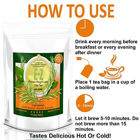 Detox Diet Meal Delivery by E Z Detox Diet Tea Burner Appetite Suppressant Fast