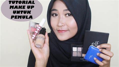 tutorial makeup sarah ayu belajar makeup tutorial makeup for begginer ayu indah