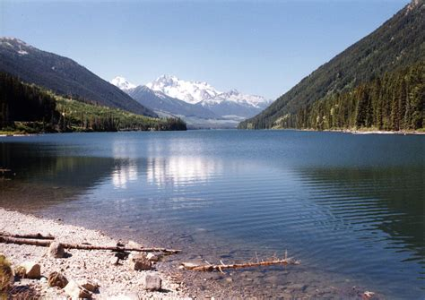 Bc Finder Duffey Lake Bc Pemberton Fish Finder