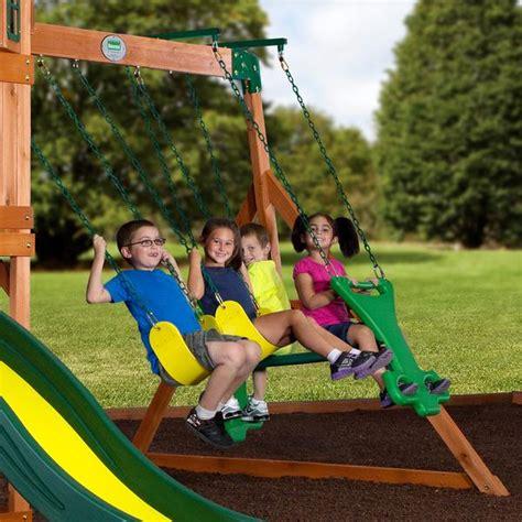 backyard discovery springboro swing set springboro wooden swing set playsets backyard discovery