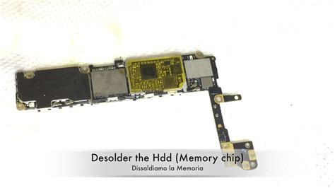 iphone 6s memory upgrade from 16 to 256gb by replacing nand flash