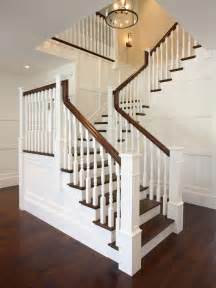 stairway banisters rop banister cottage entrance foyer kate jackson design