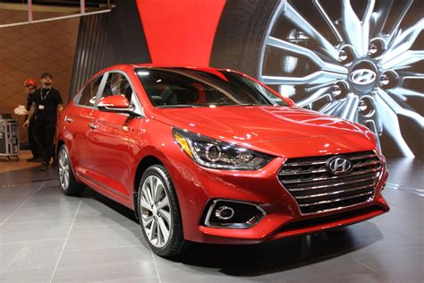 hyundai accent new model all new 2018 hyundai accent debuts with new look
