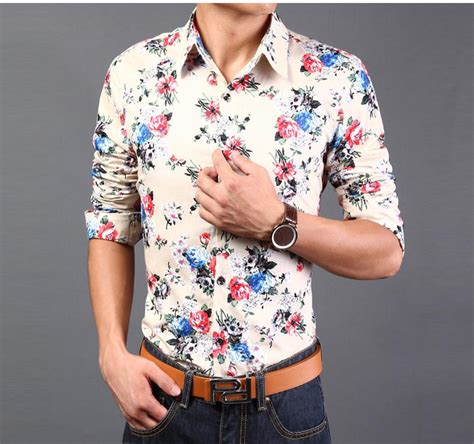 Baju Floral Blouse 1 floral blouses new 2015 casual hawaiian shirt plus size print floral tops flower button