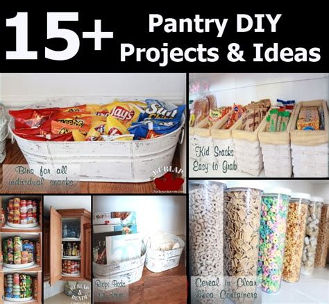 diy kitchen pantry ideas 15 pantry diy projects and ideas diy home things