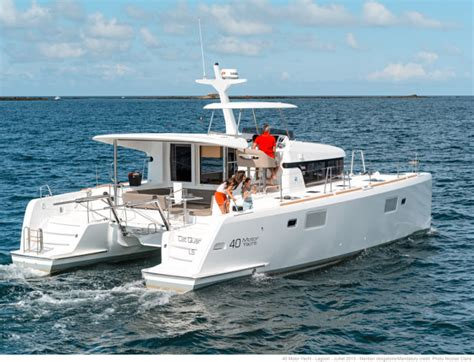 catamaran hull efficiency catamarans for sale new build lagoon 40 my lagoon