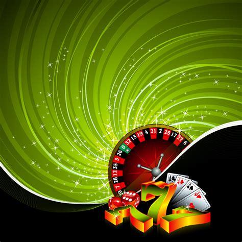 gambling illustration  casino elements  grunge