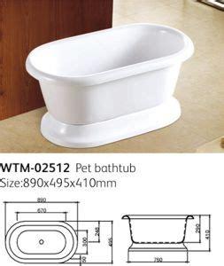 smallest bathtubs made tina muy peque 241 a del perro del ba 241 o del animal dom 233 stico