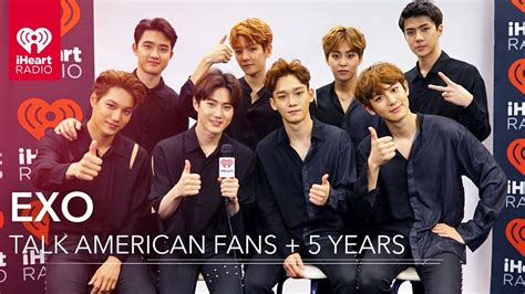 exo interview exo on american music inspiration to fans exclusive