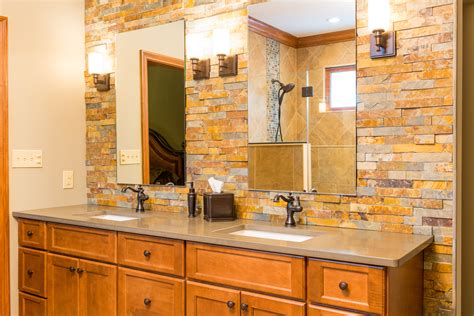 stone wall bathroom 27 nice ideas and pictures of natural stone bathroom wall tiles