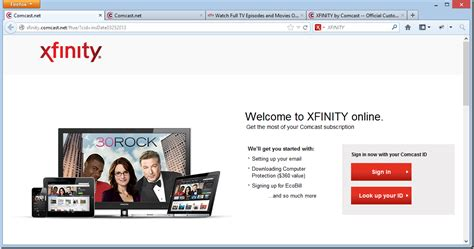 Comcast Home Page by Autoposizion Binar Comcast Home Page Ogcirfocho S