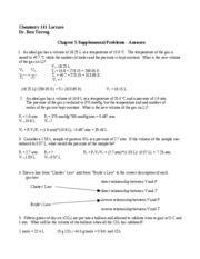 chapter 9 supplemental problems chem 141 chapter 2 chemistry 141 summer 2008 silberberg