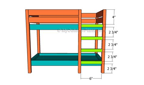 bunk bed ladder plans plans for bunk bed ladder discover woodworking projects