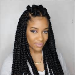 box braids on hair 42 best big jumbo braids styles with images beautified