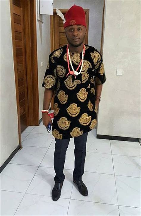 traditional igbo attire for men the beauty of igbo isiagu attire culture nigeria