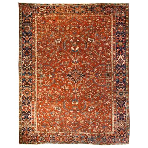 Heriz Rugs For Sale by Early 20th Century Heriz Rug For Sale At 1stdibs