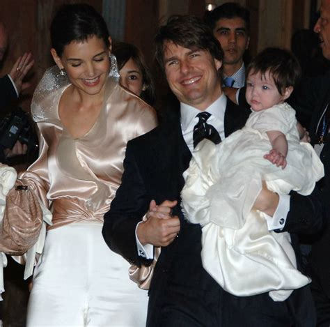 tom and suri cruise win a night at the cinderella castle suite in suri cruise turns 10 today watch her grow up right