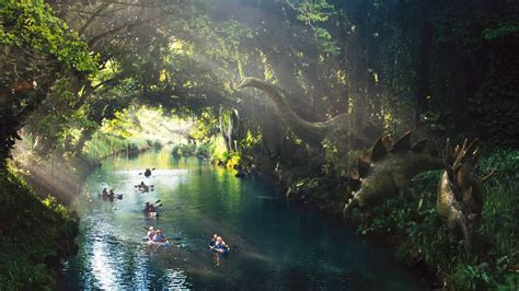 jurassic jungle boat ride cost what would it be like to actually visit jurassic world