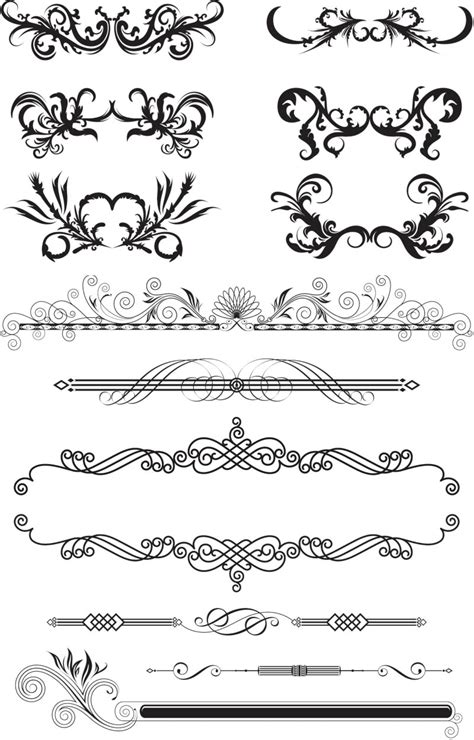decorative vector graphics blog page 39 ornaments vector graphics blog page 2