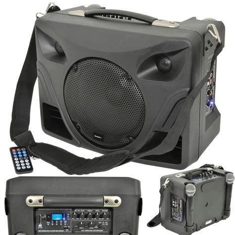 Speaker Mobil 50w portable outdoor pa speaker system mobile wireless