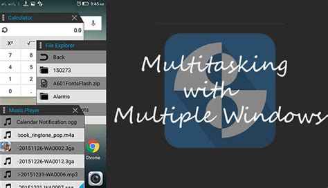 android multitasking how to open apps in windows on any android