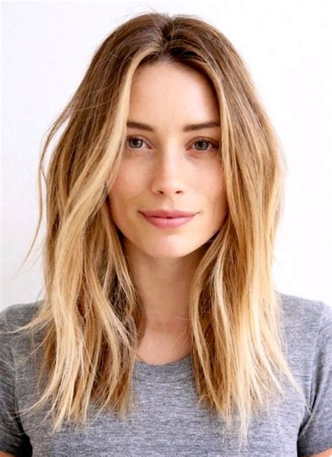hairstyle for below the shoulder 25 best ideas about one length hair on pinterest
