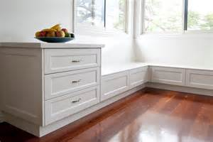 Kitchen Bench Seat With Storage Grange Kitchen Makings Of Kitchens Brisbane