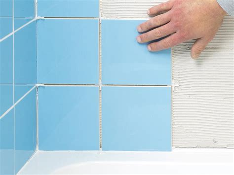 how to repair bathroom tile how to fix broken wall tile and how to regrout how tos diy