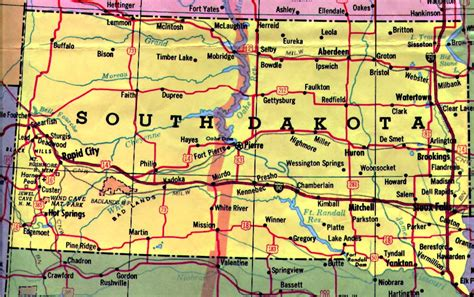 sd map redefining the of mount rushmore south dakota