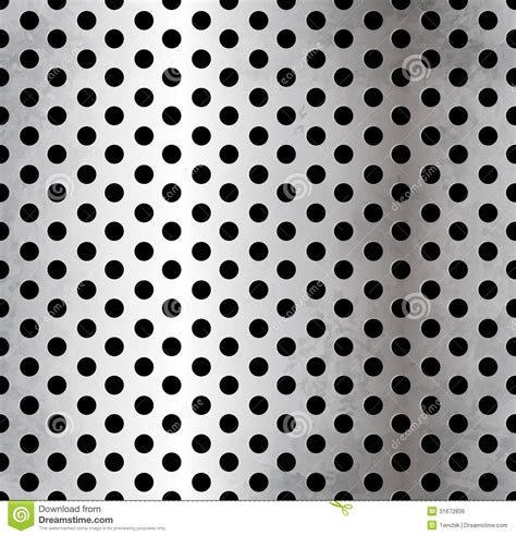 pattern vector file vector perforated metallic seamless pattern royalty free