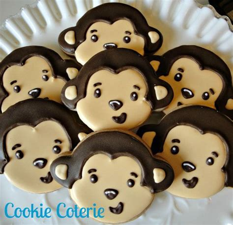 Monkey Cookie Cutter Baby Shower by 234 Best Images About Baby Shower Cookies On