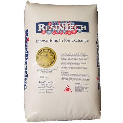 water softener resin resintech water softener resin 1 2 cubic foot