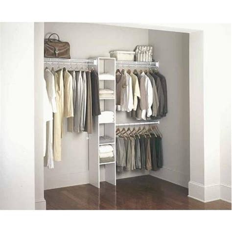 Rubbermaid Closet Solutions by Rubbermaid Fasttrack Closet Roselawnlutheran