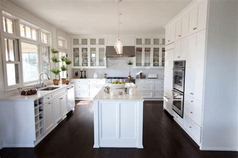 shaped kitchen transitional kitchen  cartwright